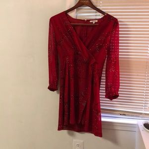 Madewell size 8 red dress